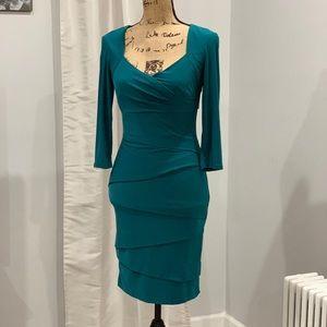 White House Black Market tiered dress size 4